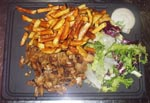 Assiette Kebab - New Cantine